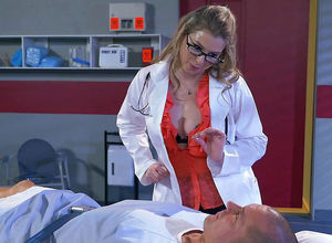 Mature Adult movie star Dr. Lane Fixes..