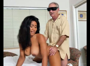 Huge-chested black nurse Jenna Foxx..