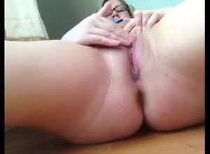 Meaty lady get white-hot ejaculation..