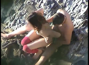 public beach sex, nudists, beach..