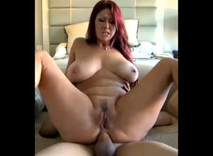 Chubby redhead mature housewife..