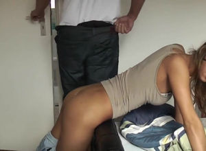 Charming young lady Girlfriend gets..