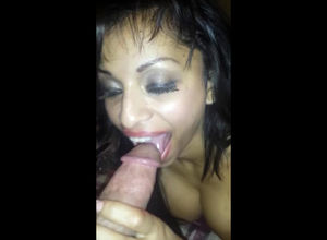 Toasted Latina  making a  jizz in her