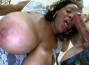 Ebony honey Selena Starlet with meaty..
